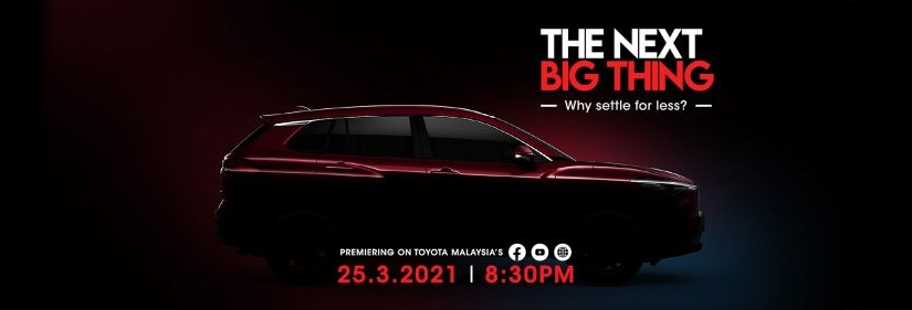 Toyota Cross is coming to Malaysia! Official launch on March 25