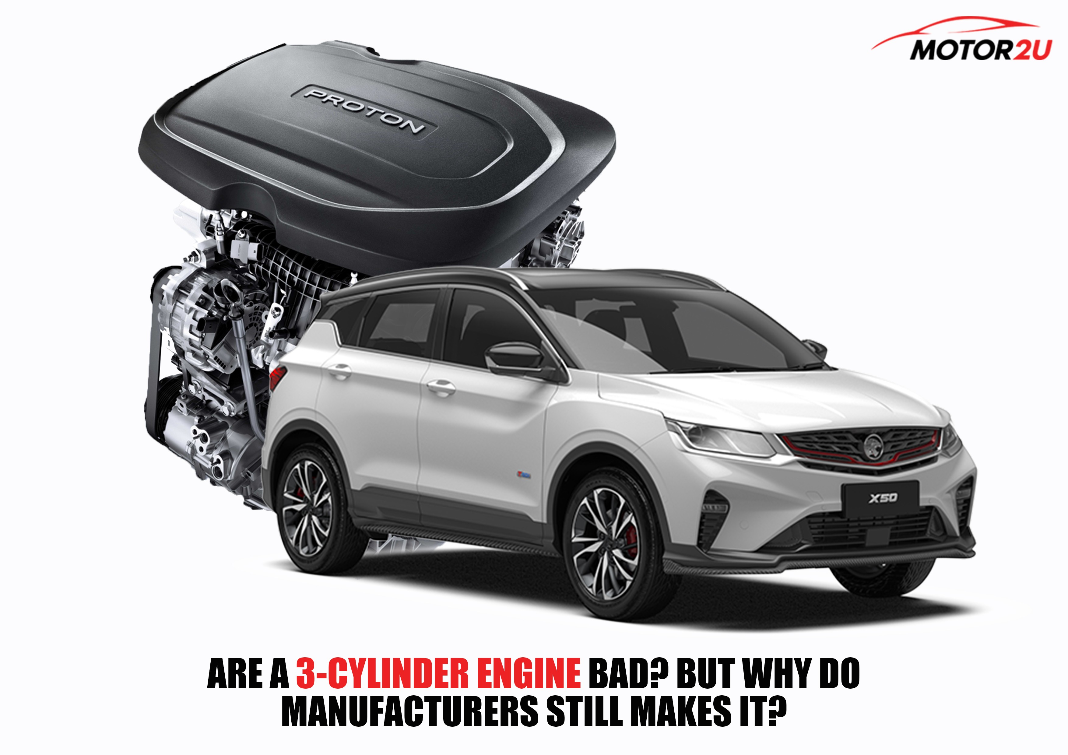 Is 3-Cylinder engine bad? So why do manufacturers still make it?