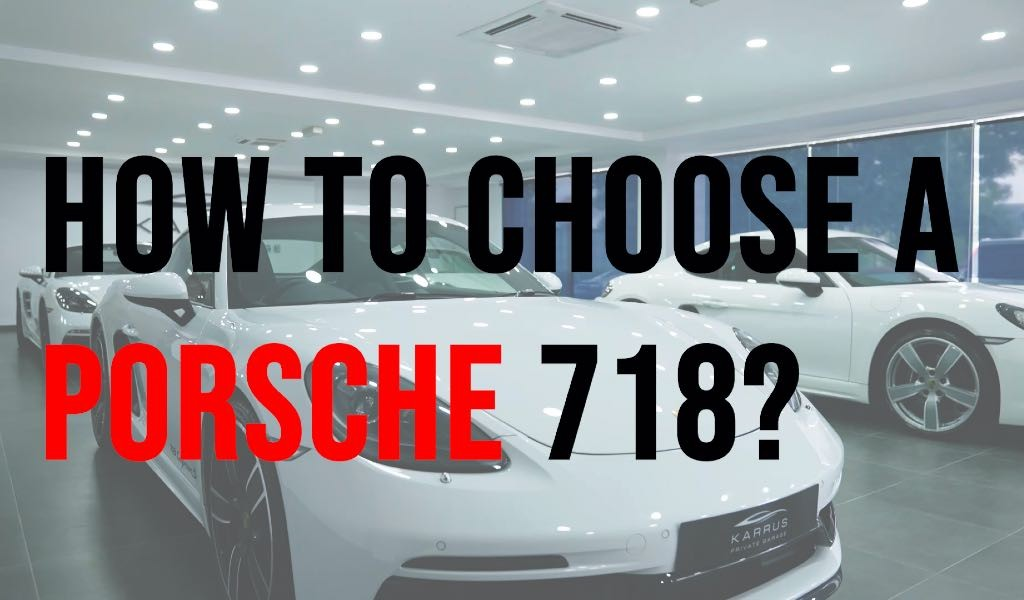 Choosing a Boxster or Cayman, what to look for? Including advice by Tengku Djan.