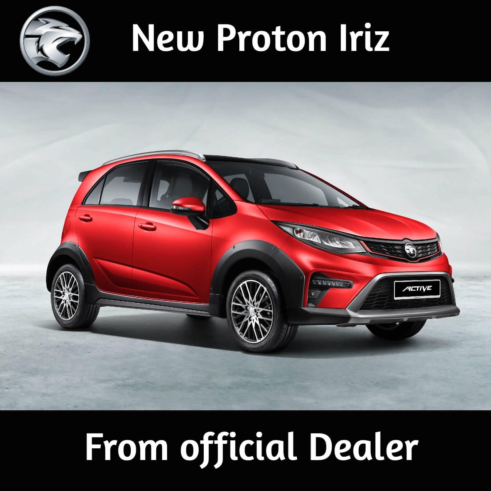 2021 Proton Iriz 1.6 CVT Active
