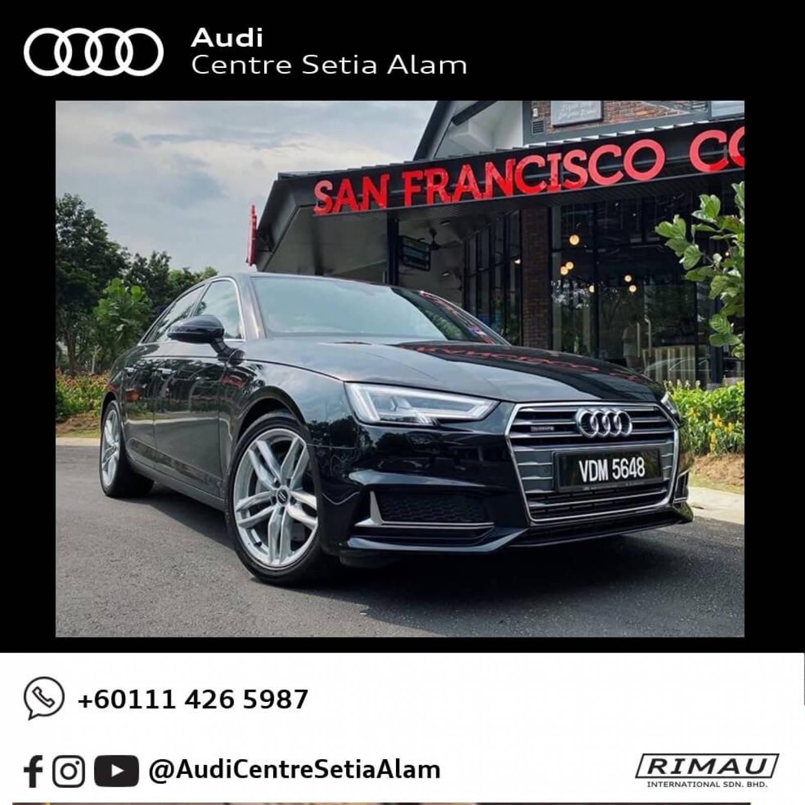 2019 Audi A4 2.0 TFSI Quattro - Demo