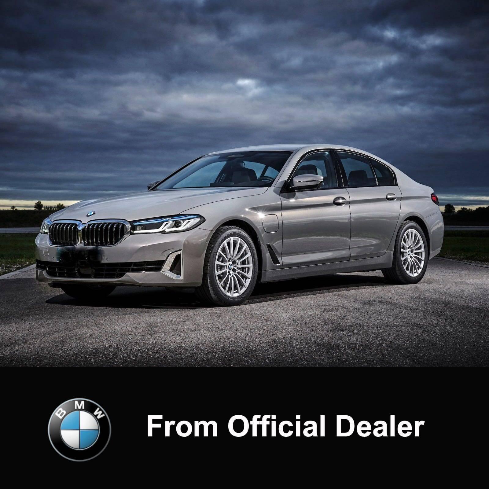 2021 BMW 530i M Sport Facelift