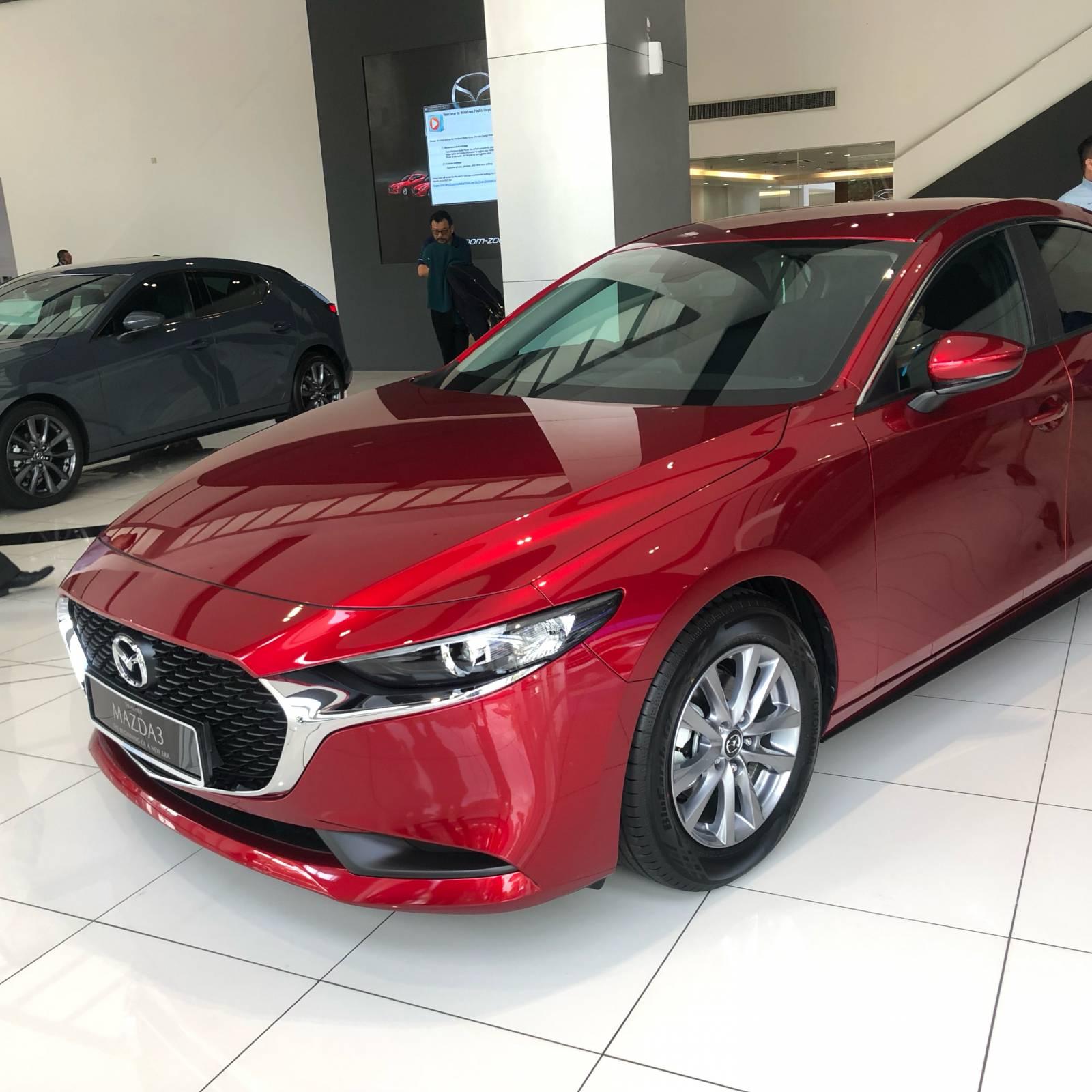 2020 Mazda 3 Sedan 2.0L High Plus