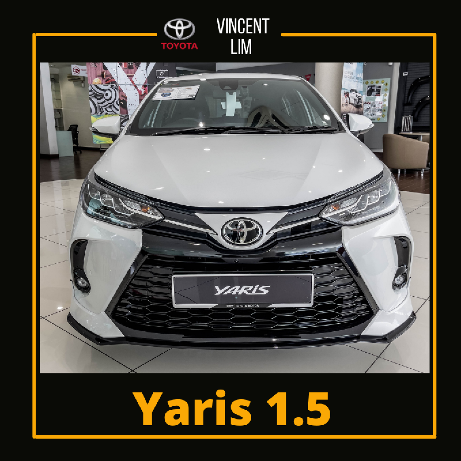 2021 Toyota Yaris Yaris-1.5G AT (2021)